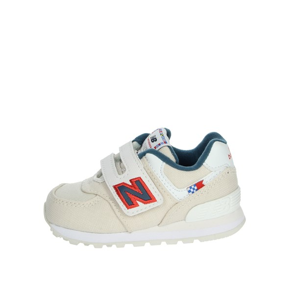 New Balance Shoes Sneakers Creamy white IV574SOM