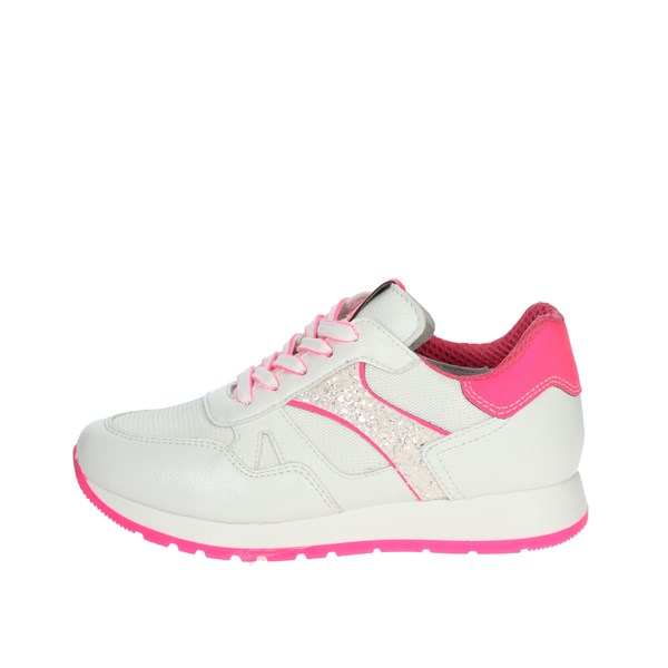 Nero Giardini Shoes Sneakers White/Fuchsia E031410F
