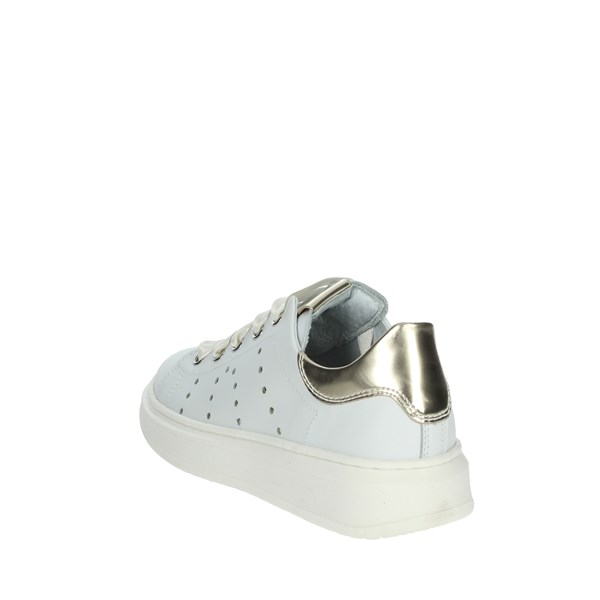 Nero Giardini Shoes Sneakers White/Gold E031552F