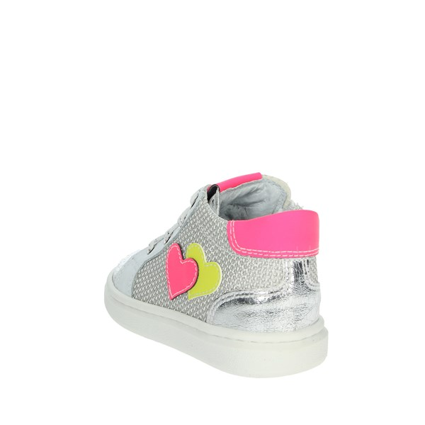 Nero Giardini Shoes Sneakers White/Fuchsia E0121340F