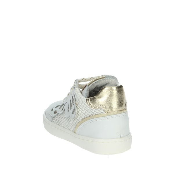 Nero Giardini Shoes Sneakers White/Gold E021380F