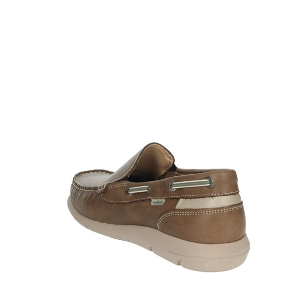 Baerchi Shoes Moccasin Brown Taupe 7951