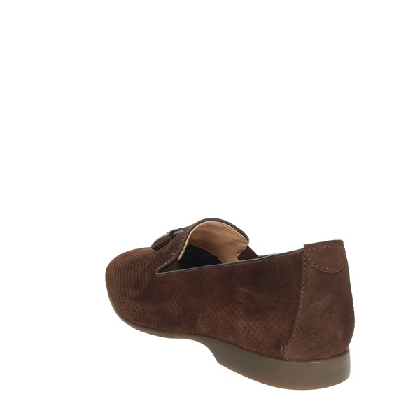 Baerchi Shoes Moccasin Brown 2302