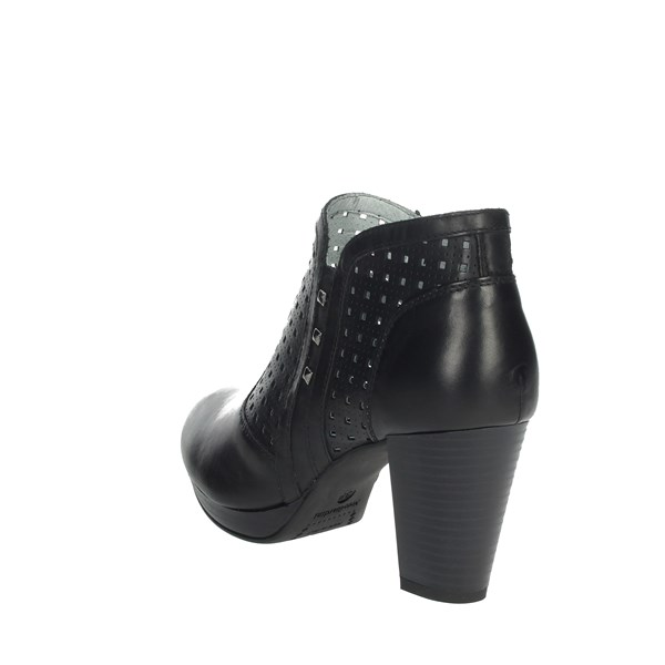 Nero Giardini Shoes Ankle Boots Black E010211D