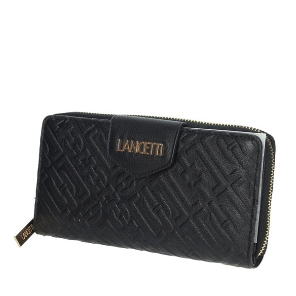 Lancetti Accessories Wallets Black LWPD0015L17