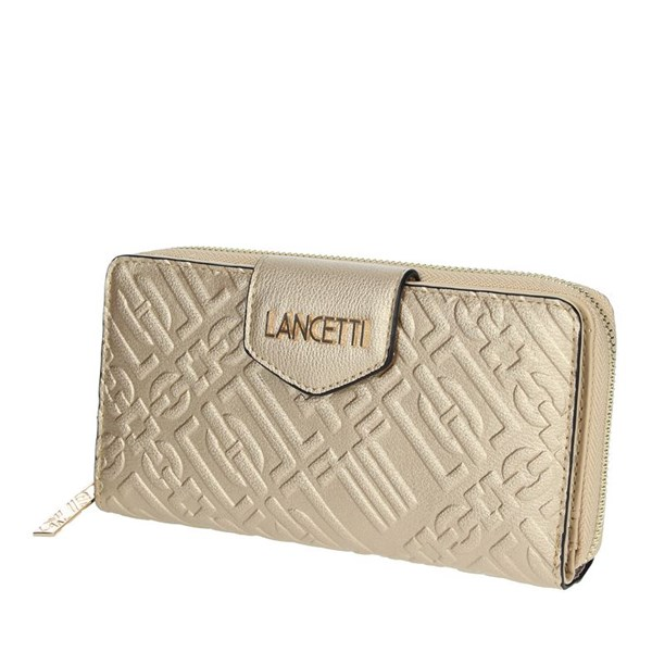 Lancetti Accessories Wallets Gold LWPD0015L17