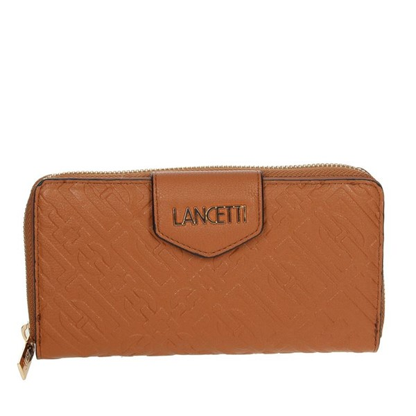 Lancetti Accessories Wallets Brown leather LWPD0015L17