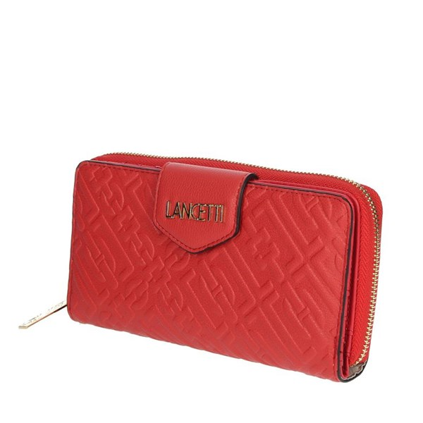 Lancetti Accessories Wallets Red LWPD0015L17