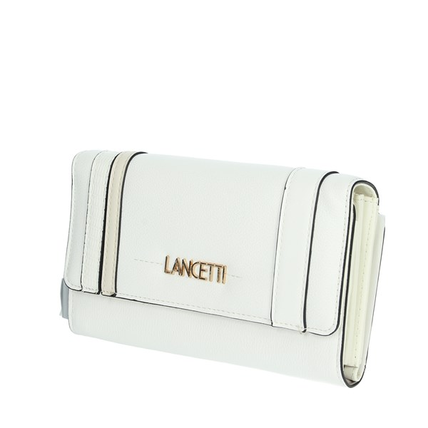 Lancetti Accessories Wallets White LWPD0016L46