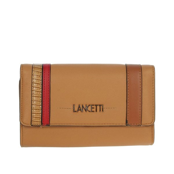 Lancetti Accessories Wallets Brown leather LWPD0016L46