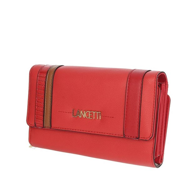 Lancetti Accessories Wallets Red LWPD0016L46