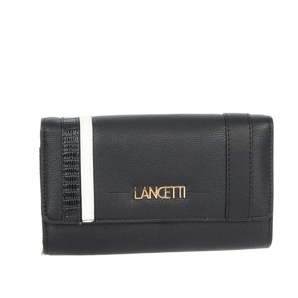 Lancetti Accessories Wallets Black LWPD0016L46