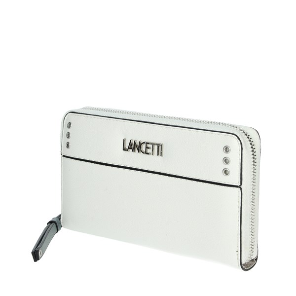 Lancetti Accessories Wallets White LWPD0013L32