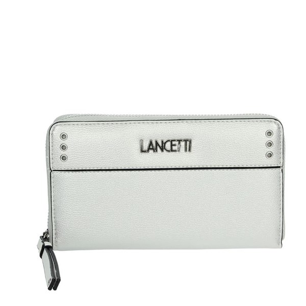 Lancetti Accessories Wallets Silver LWPD0013L32