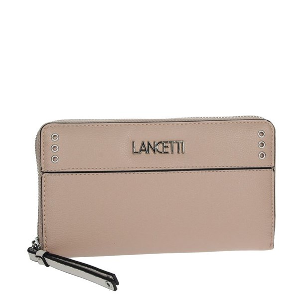 Lancetti Accessories Wallets Light dusty pink LWPD0013L32