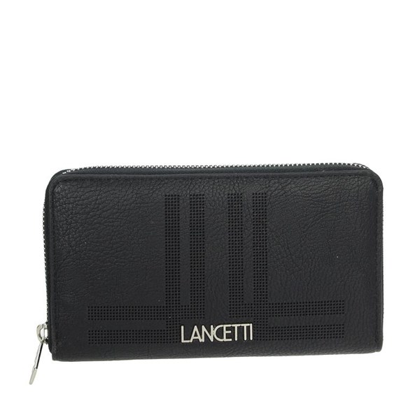 Lancetti Accessories Wallets Black LWPD0012L32