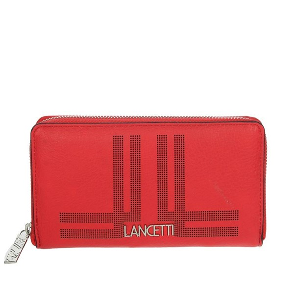 Lancetti Accessories Wallets Red LWPD0012L32