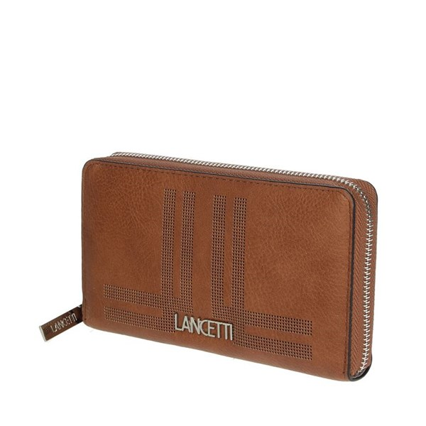 Lancetti Accessories Wallets Brown leather LWPD0012L32