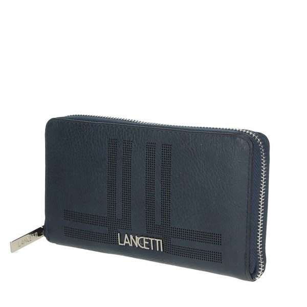 Lancetti Accessories Wallets Blue LWPD0012L32