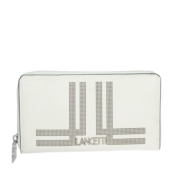Lancetti Accessories Wallets White LWPD0012L32