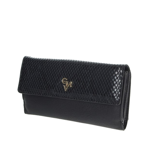 Gianmarco Venturi Accessories Wallet Black GWPD0013L07