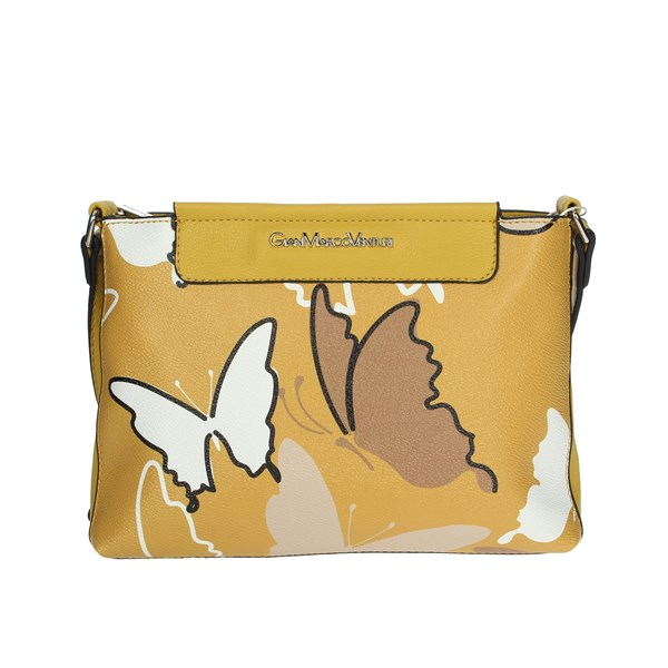Gianmarco Venturi Accessories Bags Mustard GBMD0028CY1