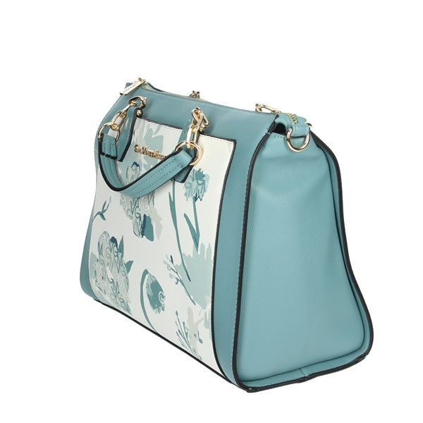 Gianmarco Venturi Accessories Bags Sky-blue GBMD0031HG2