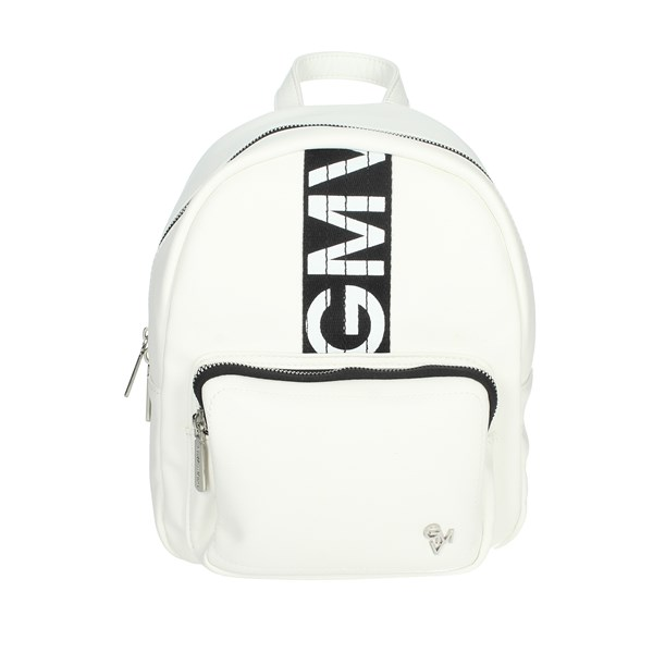 Gianmarco Venturi Accessories Backpacks White/Black GBPD0026BK2