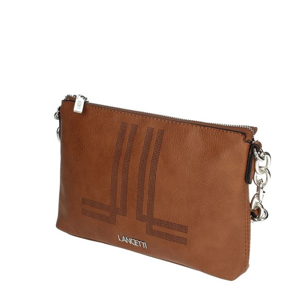 Lancetti Accessories Bags Brown leather LBPD0033CY1