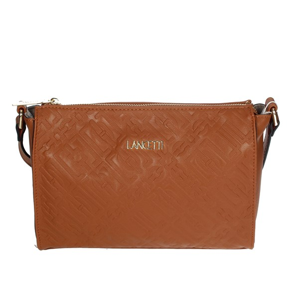 Lancetti Accessories Bags Brown leather LBPD0043CY1