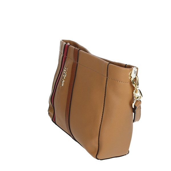 Lancetti Accessories Bags Brown leather LBPD0044CY1
