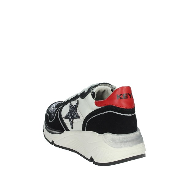 Keys Shoes Sneakers Black/White K-1650