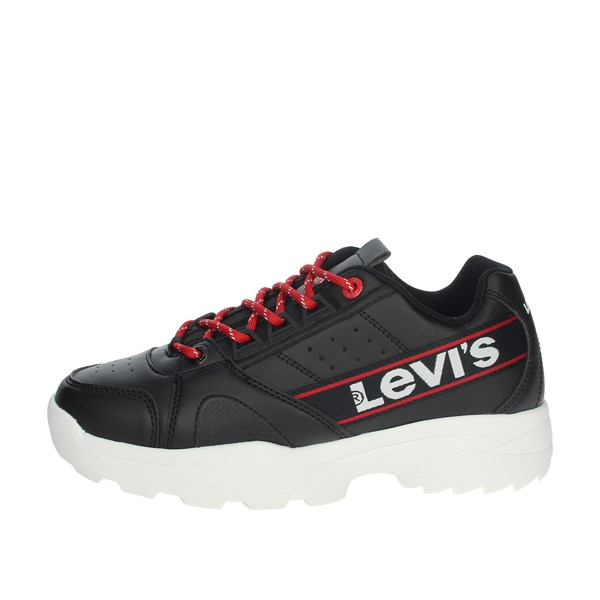 Levi's Shoes Sneakers Black/Red VSOH0023S