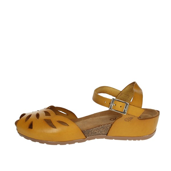 Yokono Shoes Sandals Mustard CAPRI-003