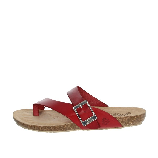 Yokono Shoes Sandals Red IBIZA-013