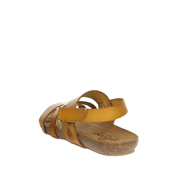 Yokono Shoes Sandals Mustard BEACH-140