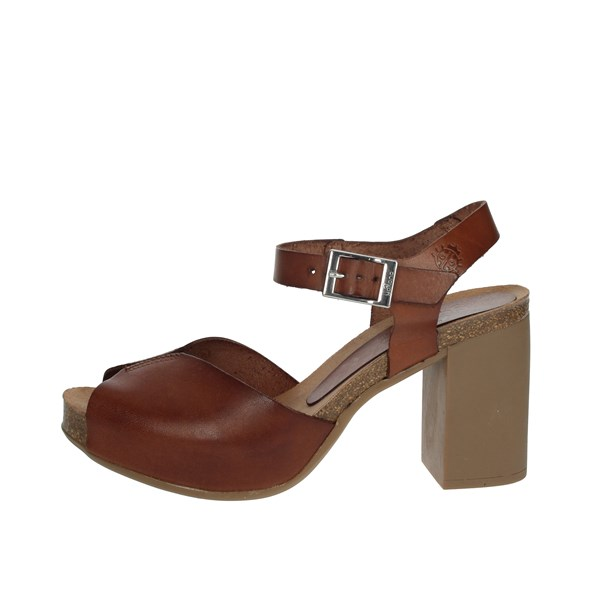 Yokono Shoes Sandals Brown leather TRIANA-071