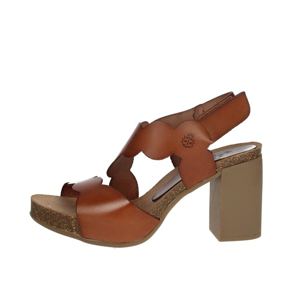 Yokono Shoes Sandals Brown leather TRIANA-065