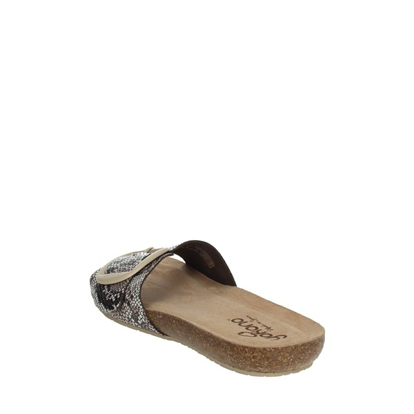 Yokono Shoes Clogs Brown IBIZA-134