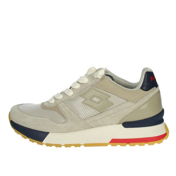 Lotto Leggenda Shoes Sneakers Beige/Blue 214028