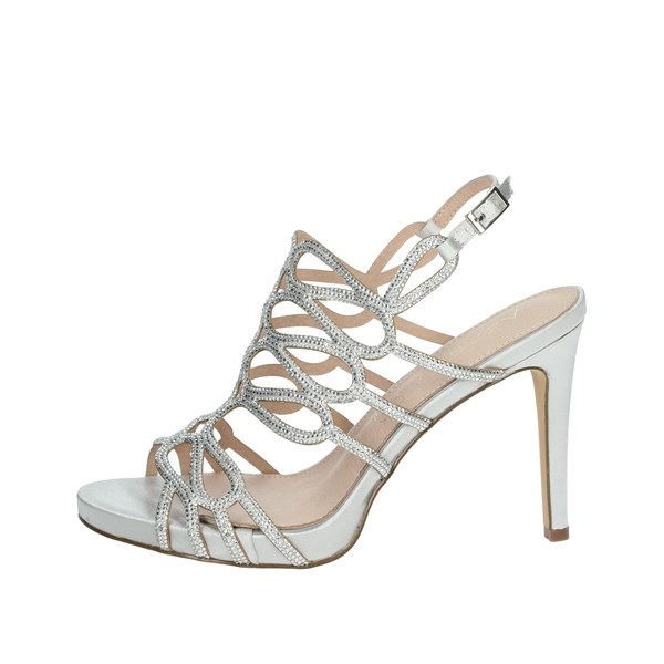 Azarey Shoes Sandals Silver 446C975
