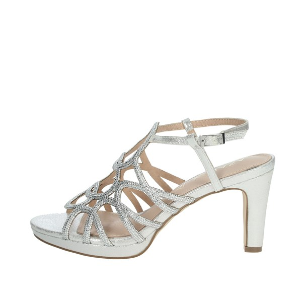 Azarey Shoes Sandals Silver 446C966