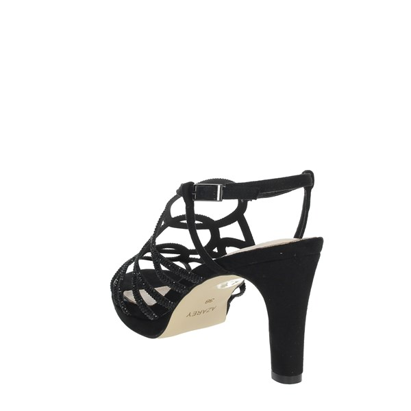 Azarey Shoes Sandals Black 446C966