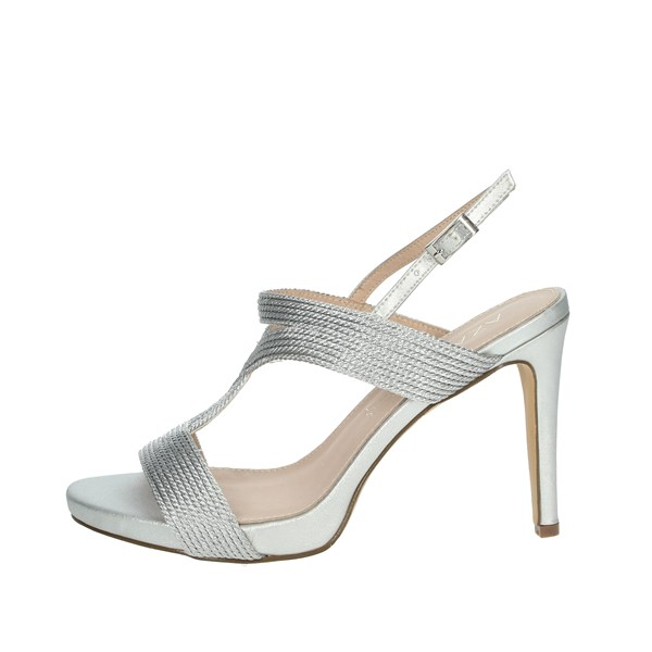 Azarey Shoes Sandals Silver 446C972