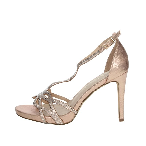 Azarey Shoes Sandals Light dusty pink 446C974