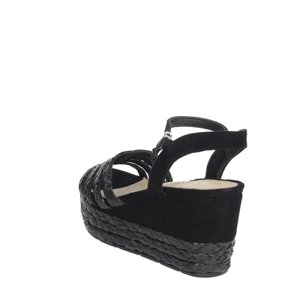 Azarey Shoes Sandals Black 494D398
