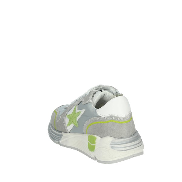 Asso Shoes Sneakers Grey/Green AG-5504