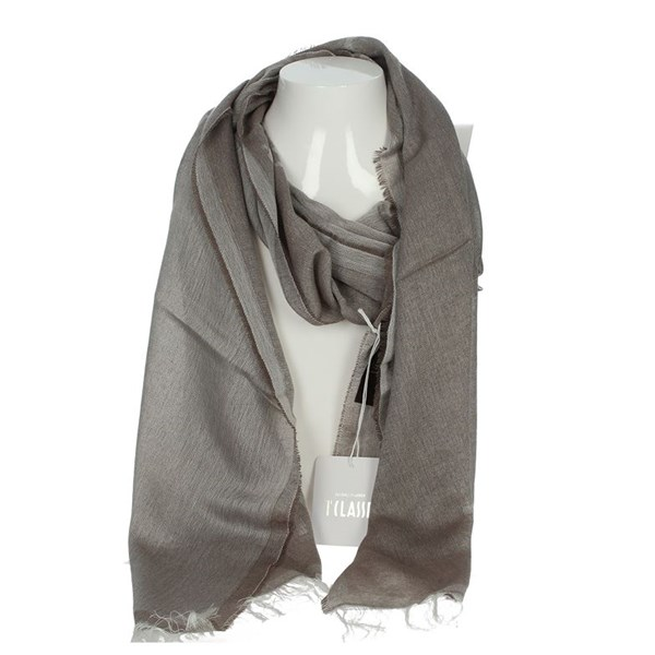 1 Classe Accessories Pashmina Brown Taupe S052 1117