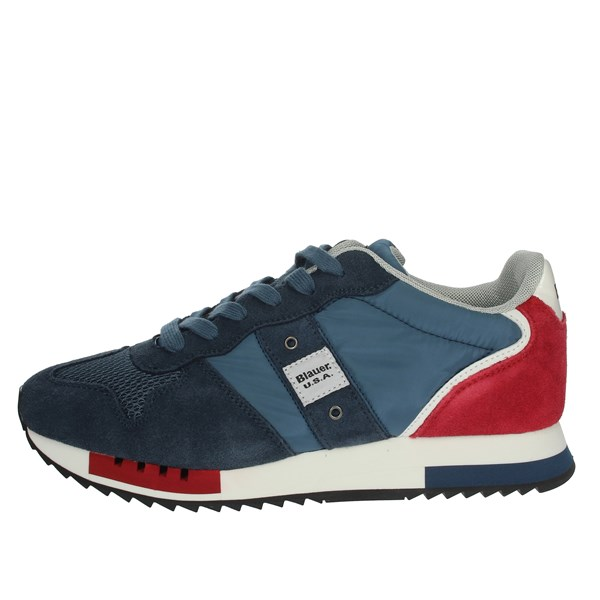 Blauer Shoes Sneakers Blue/Red S0QUEENS01