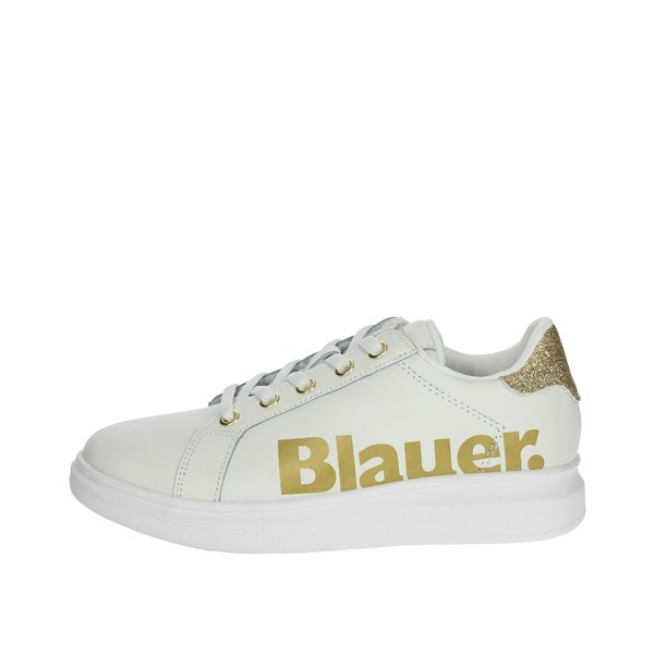Blauer Shoes Sneakers White/Gold S0JASMINE02